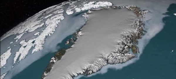 Alarma por deshielo de un gigantesco glaciar en Groenlandia por el cambio climático