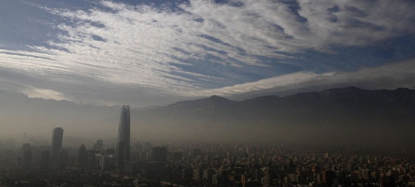 La contaminación atmosférica es responsable de una de cada diez muertes en el mundo