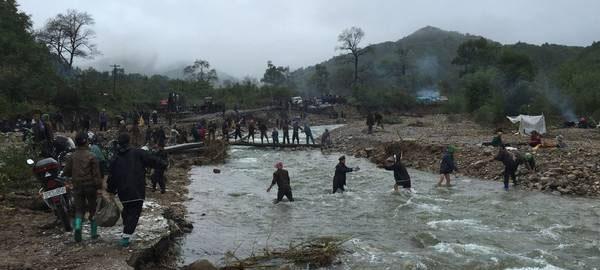 """Las inundaciones en Norcorea, """"el peor desastre desde la Segunda Guerra Mundial"""""""