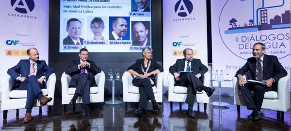 """Ángel Simón: """"Los retos en gestión hídrica deben abordarse desde la participación público-privada"""""""