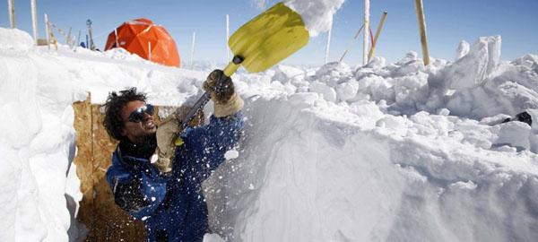 Los secretos del hielo de los Alpes se conservarán en la Antártida