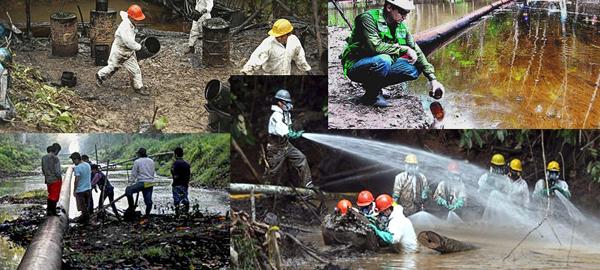 Nuevos derrames de crudo en la selva amazónica peruana