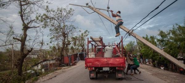 283 muertos y graves destrozos en Haití tras el paso del huracán Matthew