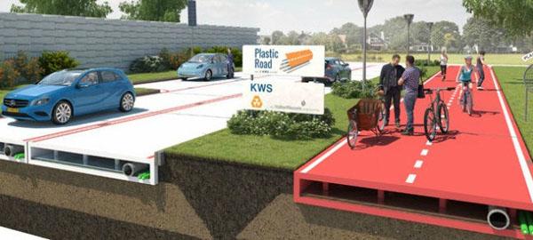Construirán carreteras en Holanda con plástico recogido del mar