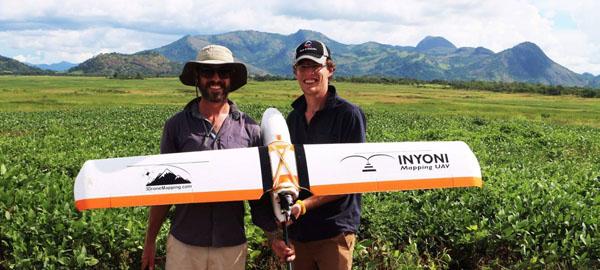 Drones 3D para la agricultura africana