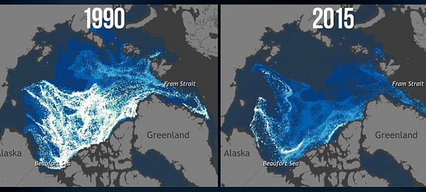 El Ártico sin hielo por primera vez en más de 100.000 años