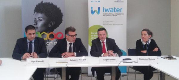 Ángel Simón presenta la primera edición del salón Iwater