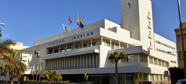 Los edificios del Cabildo de Gran Canaria apuestan por las energías renovables
