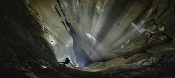 Cantabria tiene el mayor pozo vertical de España y el segundo del mundo