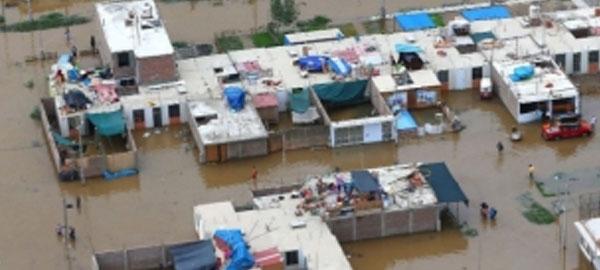 14 muertos en Perú por las inundaciones