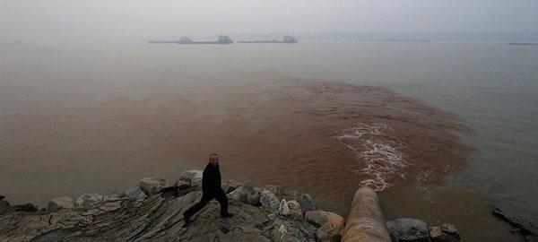 Así contribuyen los ríos a la contaminación marina