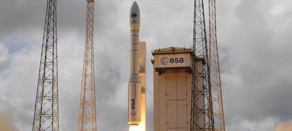 Despega el segundo satélite centinela europeo de medioambiente
