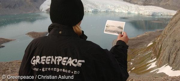 Estas imágenes muestran los terribles efectos del cambio climático en los glaciares árticos