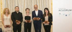 La Fundación Acuorum entrega los premios del I Concurso Literario Internacional 'Relatos de Agua'