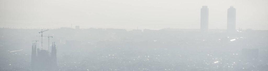 La contaminación se enquista en el área de Barcelona