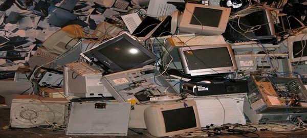 La mayoría de la basura electrónica acaba en paradero desconocido