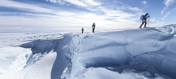Los trozos de glaciar boliviano con 18.000 años de historia