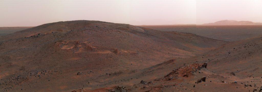 La sonda Mars Express fotografía otra prueba de que existieron ríos en Marte