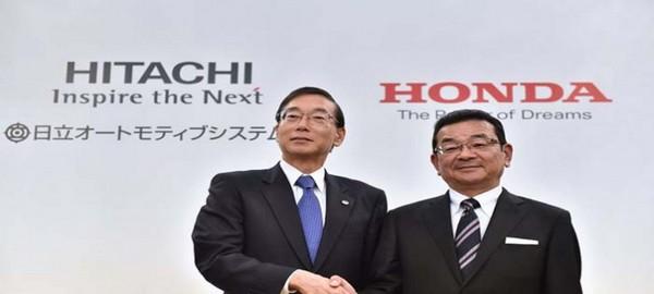 Hitachi y Honda fabricarán motores para vehículos eléctricos