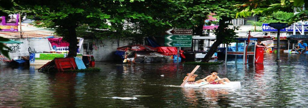 Las lluvias en Tailandia provocan 23 muertos y numerosos daños