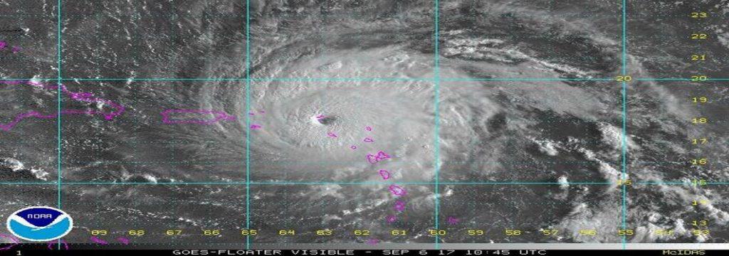 El huracán Irma arrasa las islas del Caribe