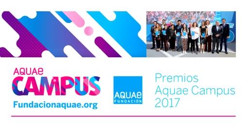 Los Premios Aquae Campus 2017 reconocen iniciativas por el desarrollo sostenible