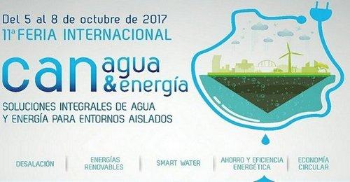 Comienza una nueva edición de la feria Canagua&energía (Gran Canaria)
