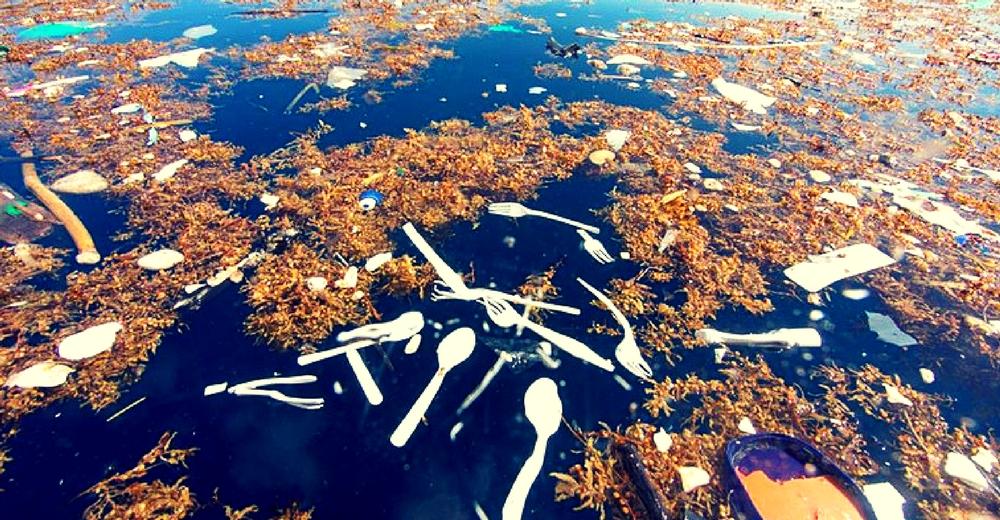 """Los desechos humanos forman un """"mar de plástico"""" en el Caribe"""