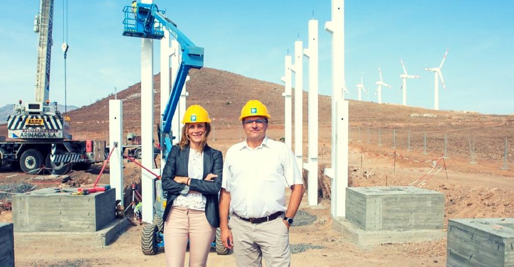 Canarias cuenta con un 20% más de energía eólica