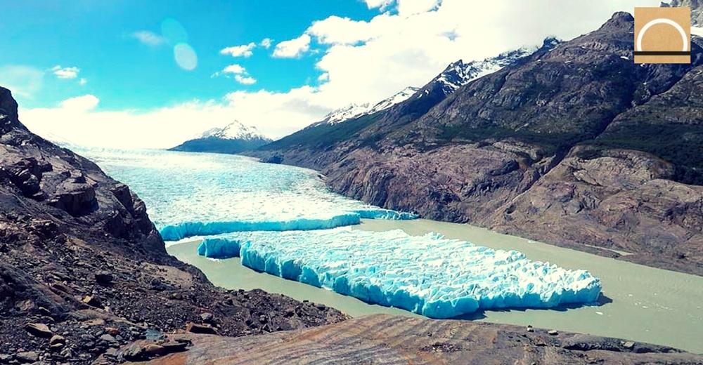 El calentamiento global podría ser la causa de la fractura del glaciar Grey en Chile