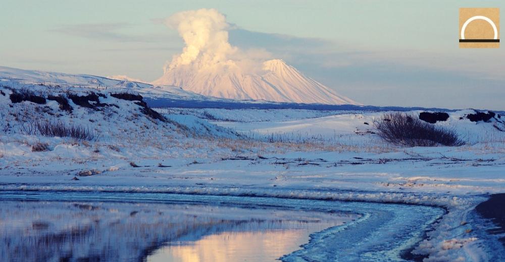 Las nubes de ceniza de los volcanes antárticos podrían rodear el planeta