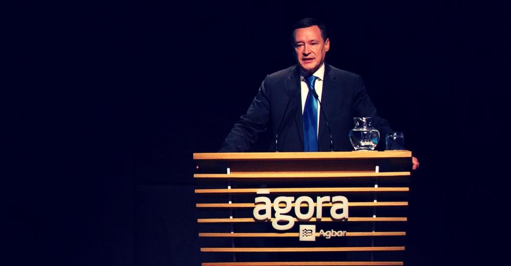 """Ángel Simón (Agbar): """"Las empresas necesitan un marco competitivo y un ecosistema justo"""""""
