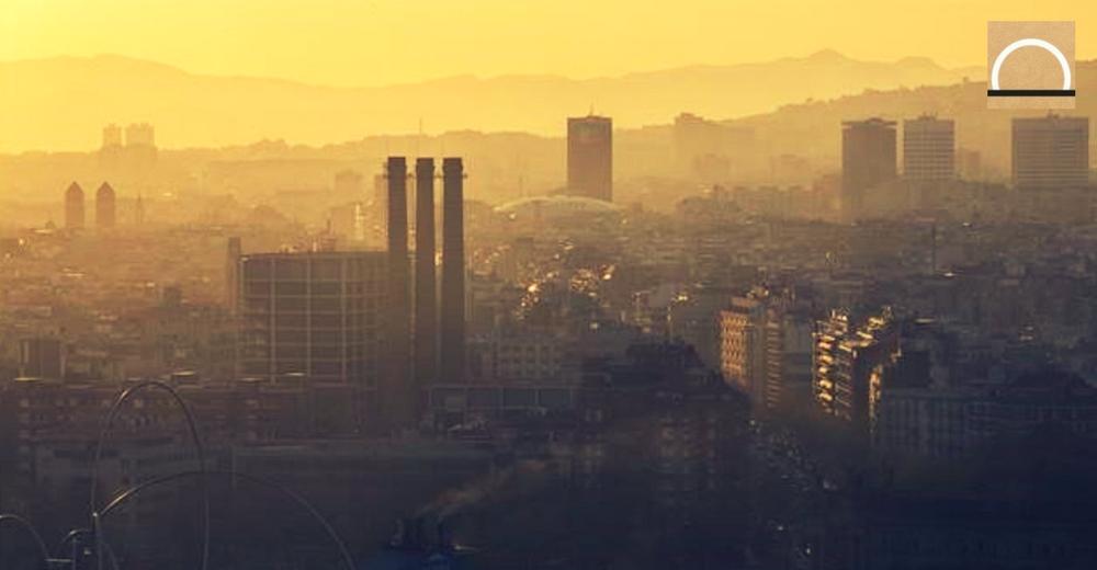 Muertes e ingresos hospitalarios en Barcelona por el alto nivel de contaminación