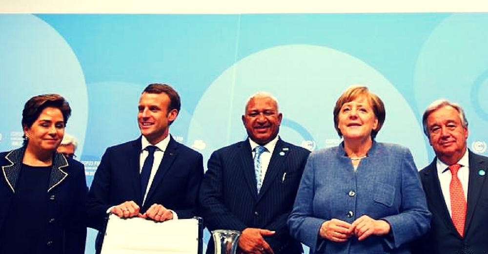 """Merkel y Macron (COP23): """"Los países más contaminadores tienen la responsabilidad de ayudar a los más vulnerables"""""""