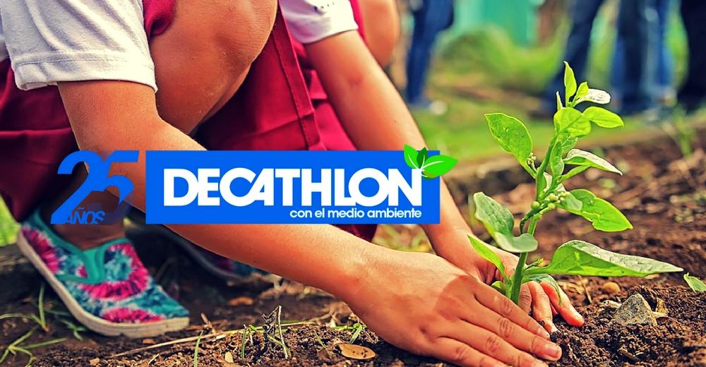 Decathlon planta más de 1.000 árboles y recoge 21.000 kilos de residuos