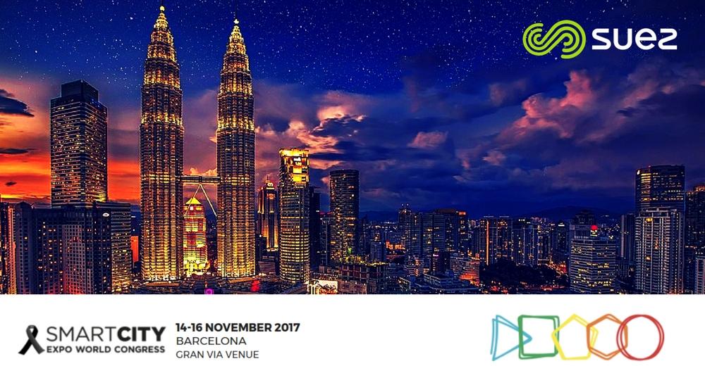 Comienza el Smart City Expo 2017 y SUEZ comparte soluciones para crear ciudades más inteligentes