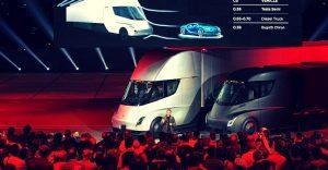 Tesla producirá el camión eléctrico semiautónomo a partir de 2019