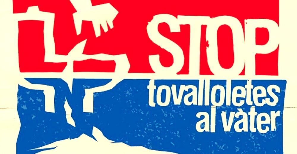 """""""Stop toallitas en el váter"""", la campaña contra el vertido de toallitas"""
