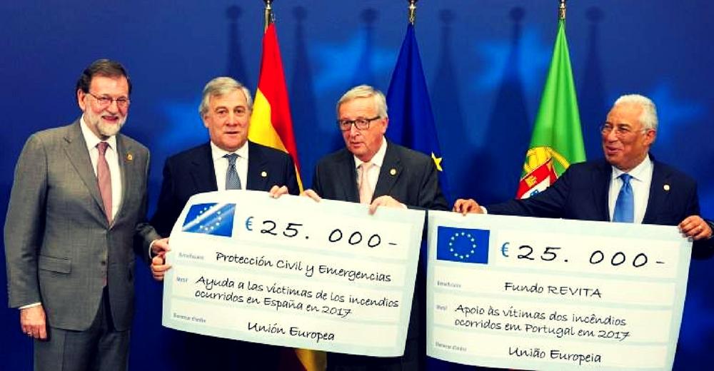 La UE dona el Premio Princesa de Asturias a las víctimas de los incendios forestales en España y Portugal