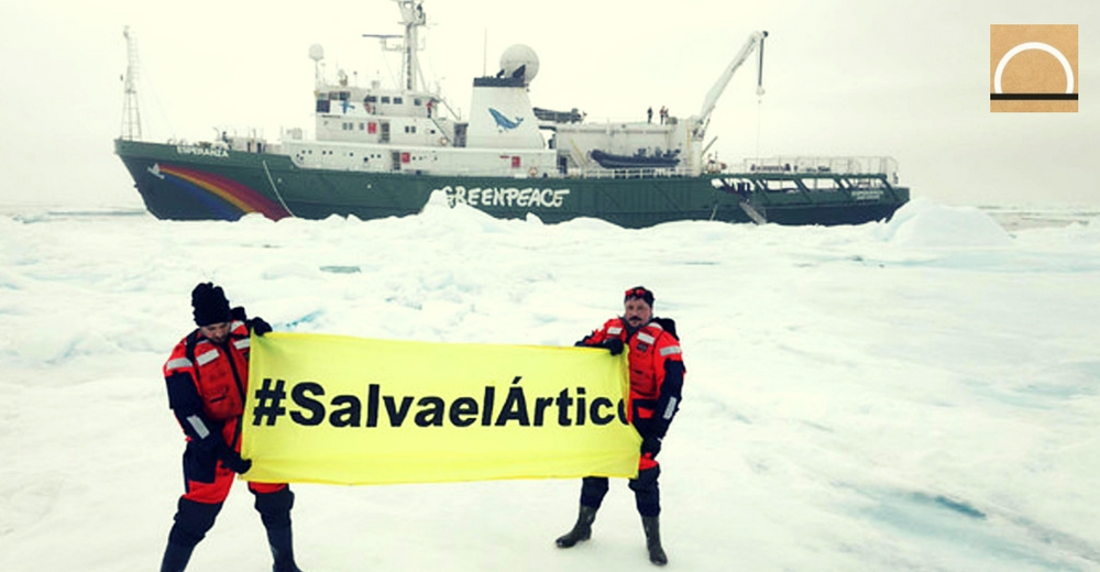 Greenpeace ha cerrado un acuerdo para proteger el Ártico de la pesca industrial