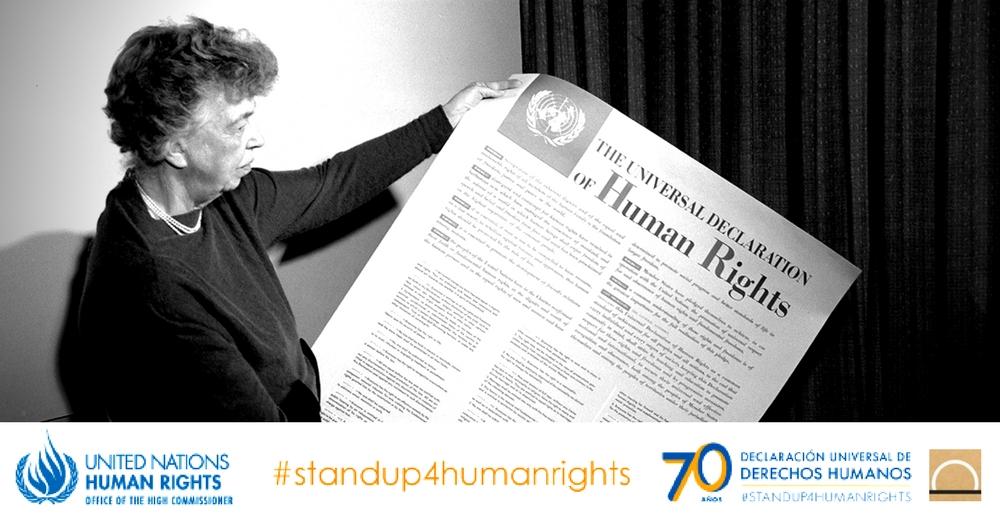 Comienza la campaña del 70º aniversario de la Declaración Universal de los Derechos Humanos
