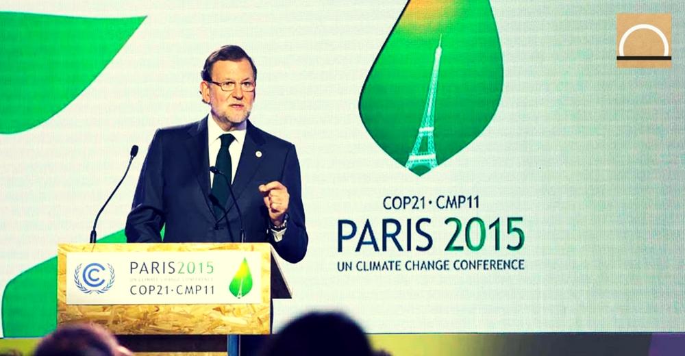 Rajoy apoyará hoy en París el acuerdo para limitar el calentamiento global