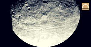 El asteroide Vesta y el posible origen del agua en la Tierra