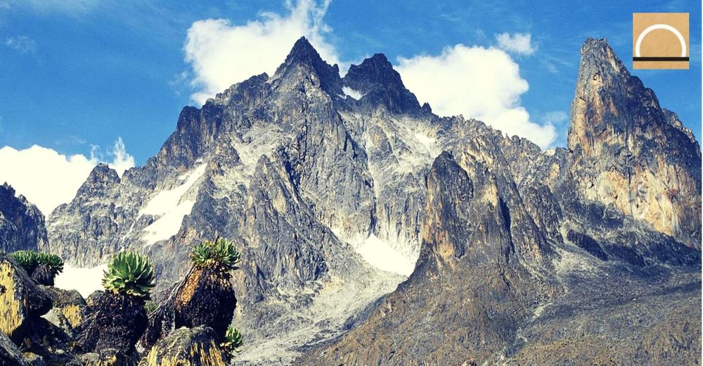El imparable deshielo de los glaciares del Monte Kenia