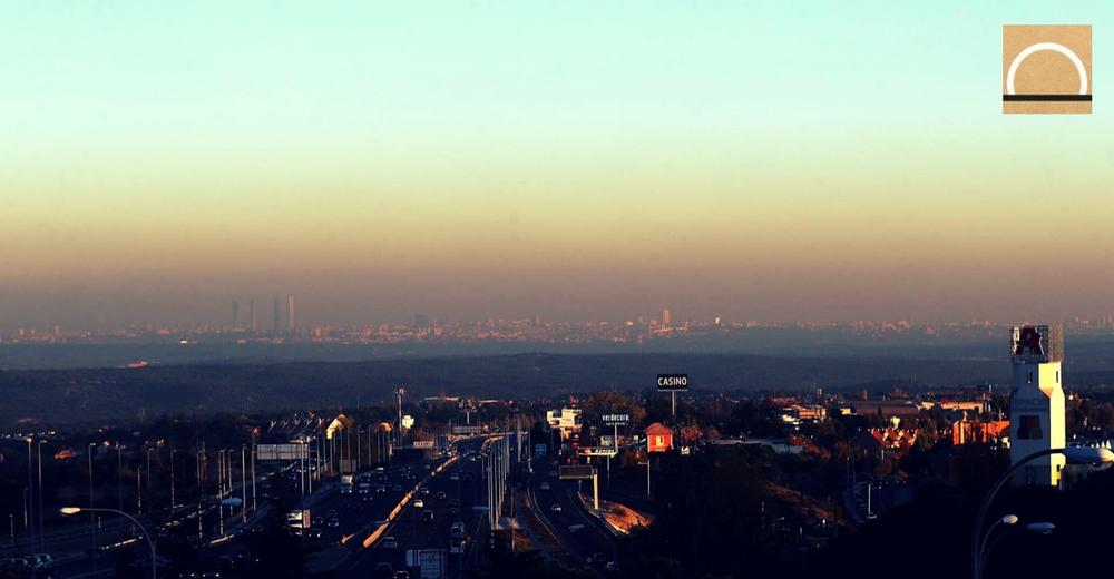 Madrid activó el protocolo contra la contaminación del aire