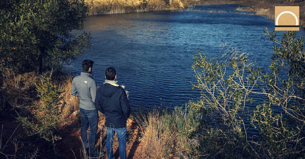 Una laguna surge en Valencia en plena sequía