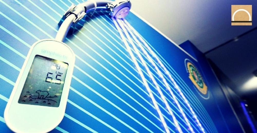 El innovador sensor que informa sobre los litros de agua que se gasta durante la ducha