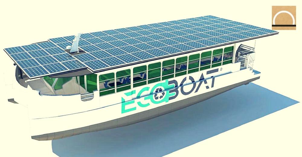 Ecocat, la primera embarcación de Europa que se mueve únicamente con energía solar