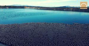 SUEZ reduce la evaporación de agua y mantiene su calidad en balsas y embalses