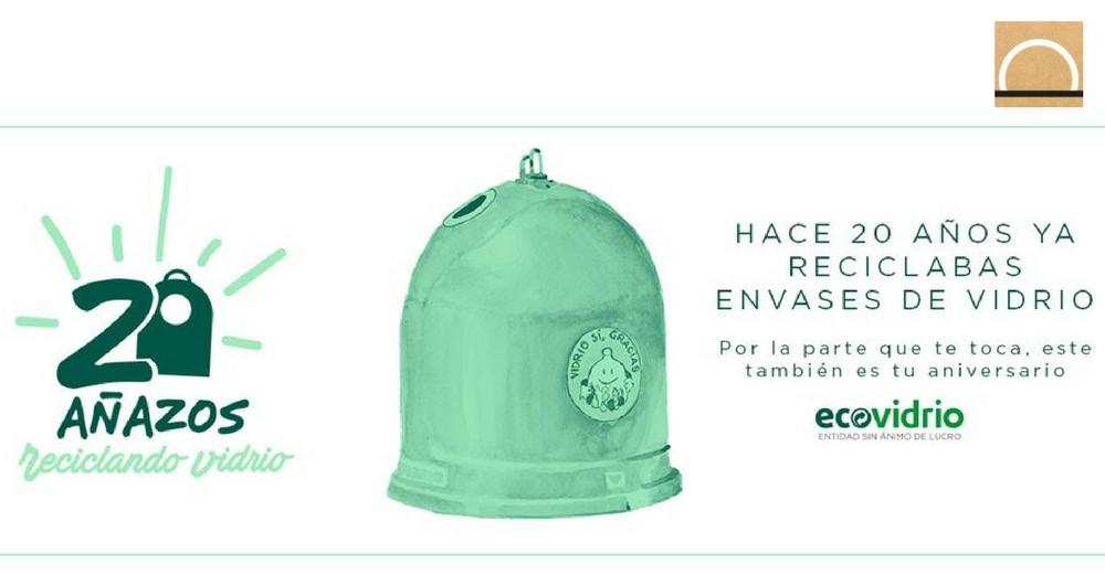 La tasa de reciclaje de vidrio en España es del 73%